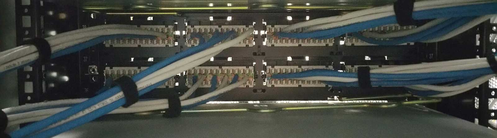 Backside patch panel