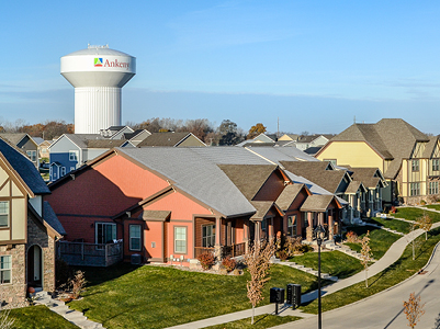 ankeny homes water tower background