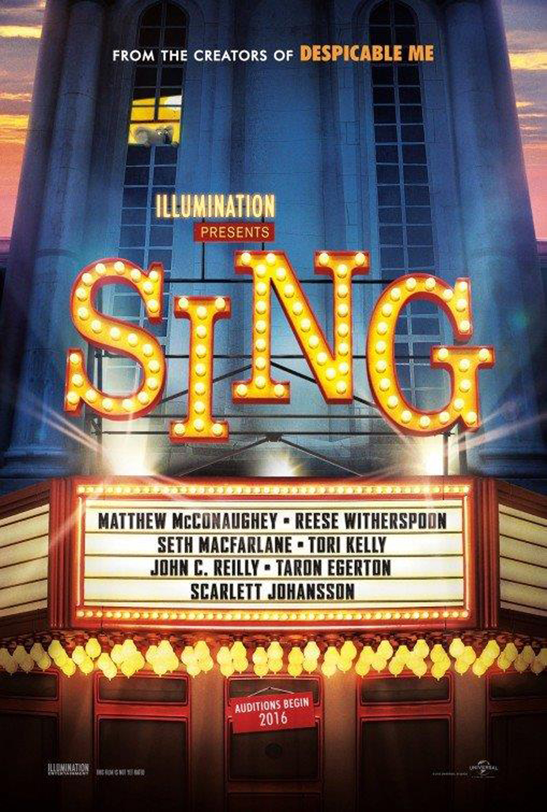 Movies Under the Stars - Sing | Parks & Rec Calendar Events