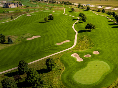 Otter Creek Golf Course aerial