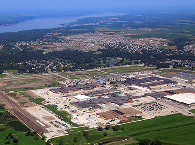 Aerial view of Ankeny
