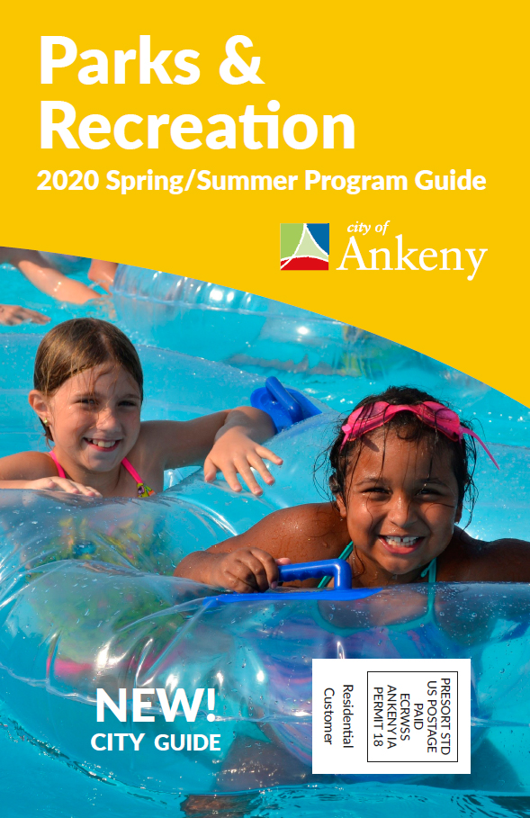 2020 spring summer cover two girls in innertube in lazy river Cascade Falls Aquatic center