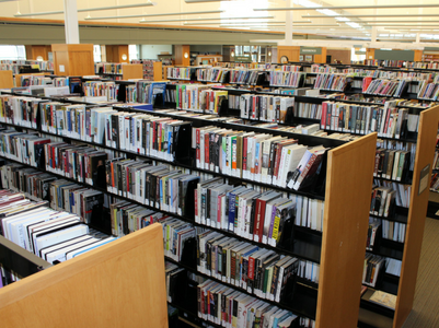 kirkendall library shelves