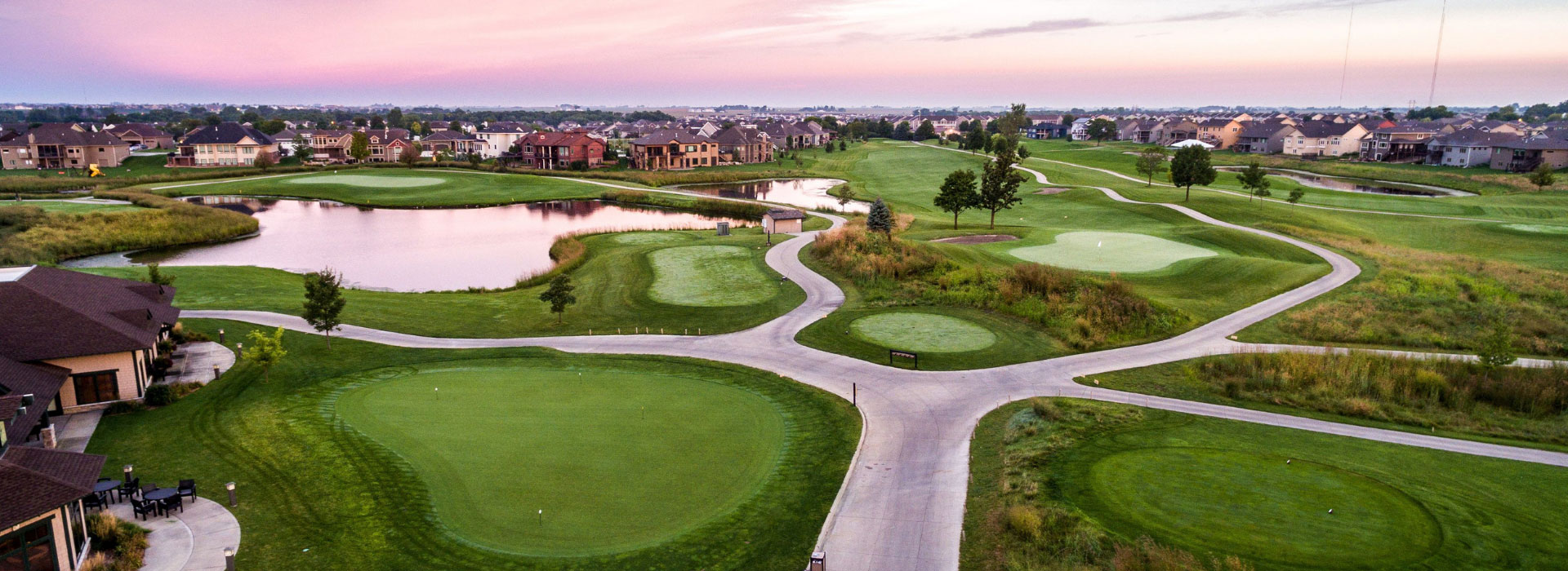 otter-creek-golf-course-sunset-aerial-photo