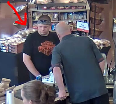 male suspect in black shirt, case 19-004351