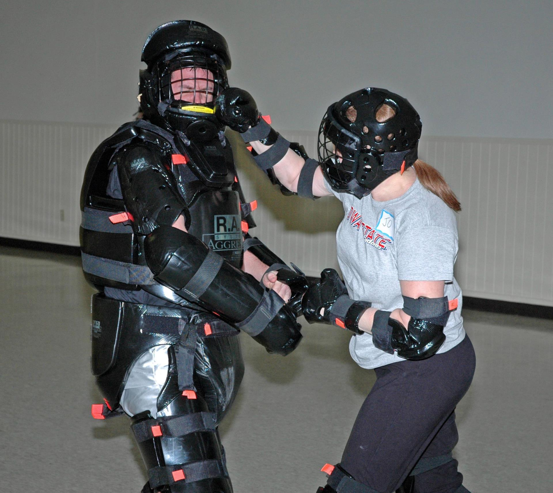 RAD Self Defense Class physical training