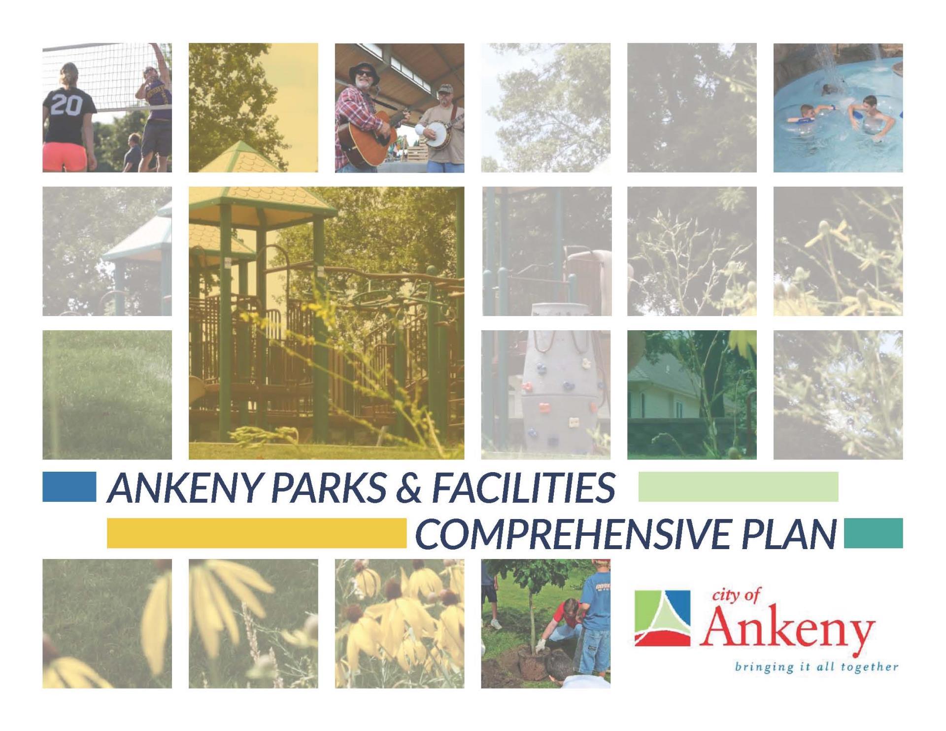 2019 Ankeny Parks & Facilities Comprehensive Plan cover